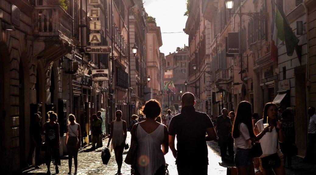 zamka, turista, italija, ulične zamke