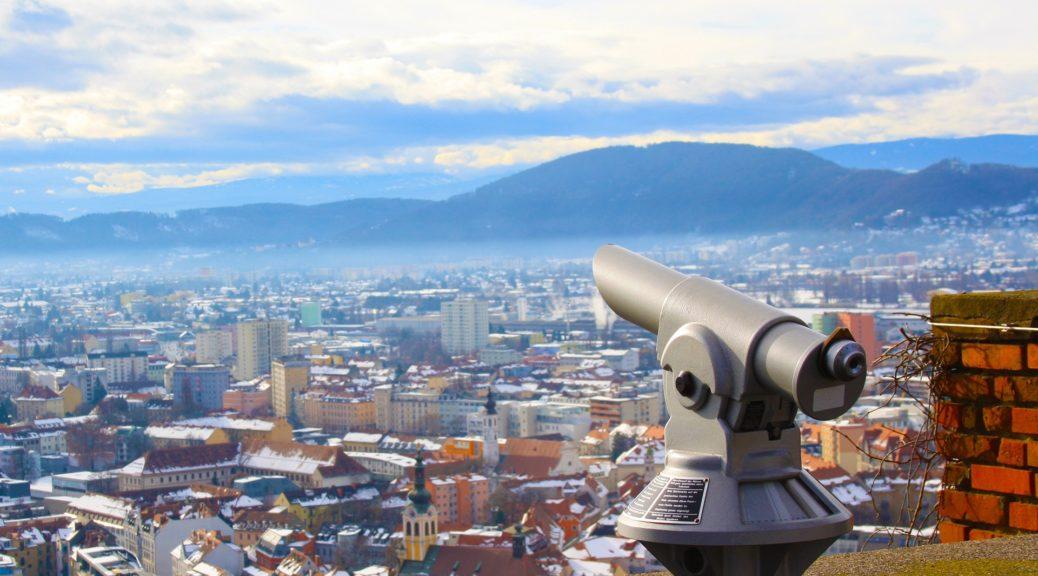 austrija, grad, grac, odmor
